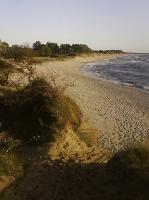 Пляжная картинка этой весной в Балтийске.