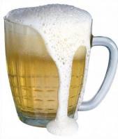 Какова емкость большой кружки пива?
