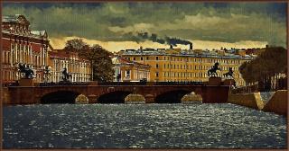 Аничков мост (3 варианта)