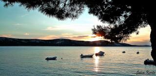 Закат на острове Паг