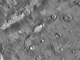 Русло высохшей реки Марса