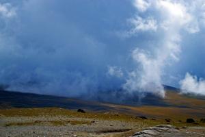 Туман на горе Карайман