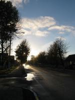 Заходит солнце
