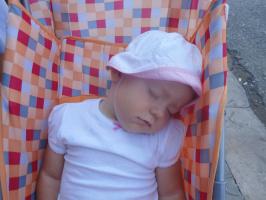 Лиза устала
