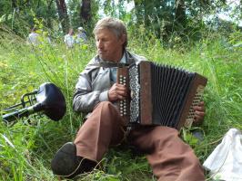 М.Н.Петров - поэт, гармонист, агроном...В День города 25 июля 2015 года.