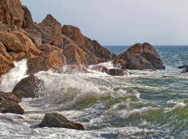 Море - это очень много воды