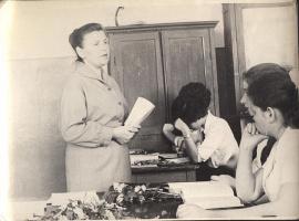 Май 1966 года. Последний школьный день. 2-я средняя школа. Фото Вали Немковой (Корниловой).