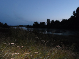 Вечер на Ячменке...2 сентября 2013 года.