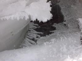 Зимой были снежные кружева..