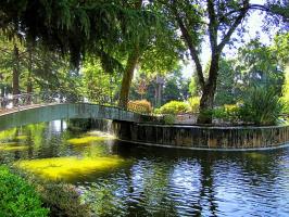 В парке Хрустального дворца (Порту)