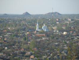 город Шахты май 2009 года