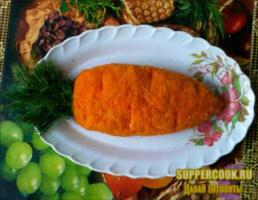 """Салатик """"Морковка для кролика"""""""
