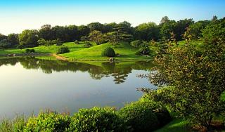 В Ботаническом саду Чикаго
