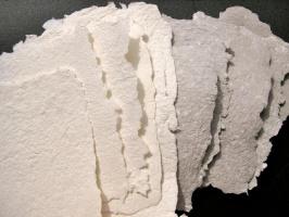 Из чего делают настоящую рисовую бумагу?