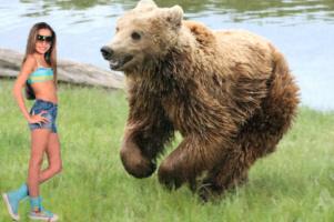 Янка и медведь