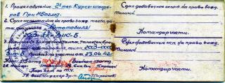 Водительское удостоверение Афонина А.Е.