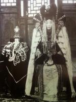 Монгольская аристократка в национальном костюме, XIX век.