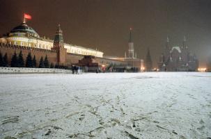 Красный флаг над Кремлём