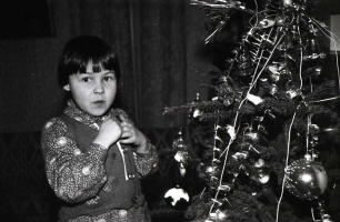 Анечка. Январь 1981 года.