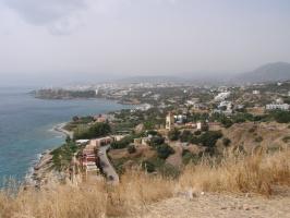 о.Крит Вид на г.Агиос Николаос