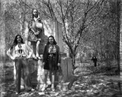1 Мая 1973 года. В Летнем парке.