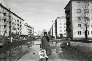1978 год. На Советской улице.