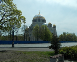 Чем характерен узор на куполе собора?