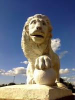 Львы на Елагином острове (2)
