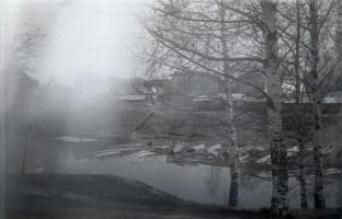 1976 год.Весна на Пушавке.