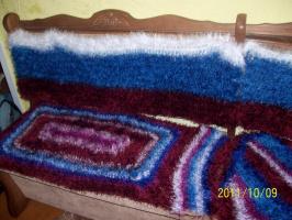 шубка для диванчика из травки