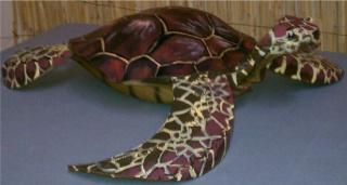 Черепаха из покрышек 2