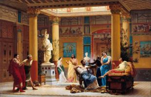 Чем древние римляне чистили зубы?