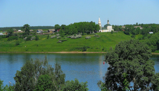 Лето, Волга, г.Тутаев