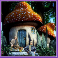 Тук тук ,кто в грибочке живет