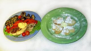 Печенье-валентинка и быстрые блюда на гриле