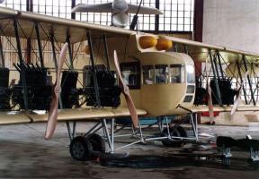 Илья Муромец в музее авиации в Монино