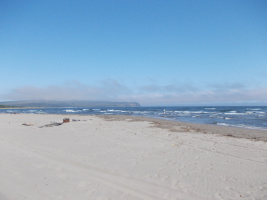 Но есть и вот такойу нас пляж