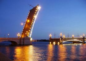 Где придумали разводные мосты?