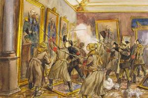 Какую власть свергла Великая октябрьская революция?