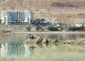 Несколько картинок с Мёртвого моря