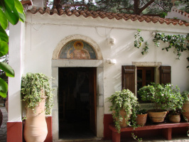 о.Крит Монастырь Святого Георгия Селинари