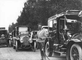 Автомобили Собственного Его Императорского Величества гаража. До 1914 г.