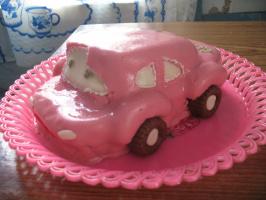 торт-машинка