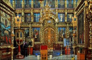 Троицкий собор во Пскове. Несколько фотографий интерьеров.