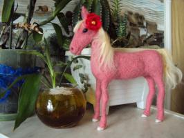 Лошадка для Полины.