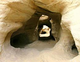 Лабиринт пещер парка Тимна (Израиль)