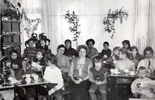 """Постоянные члены клуба """"Семейное чтение"""""""