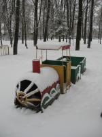 Зима в парке 1