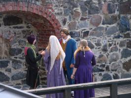 Финляндия.Праздник в крепости Олавинлинна