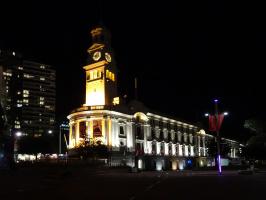 Ночь в Окленде, Новая Зеландия